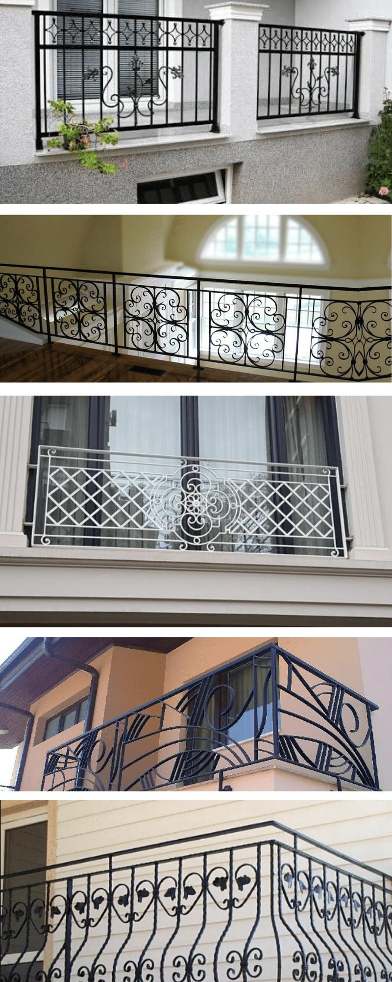 İzmir ferforje balkon korkuluğu