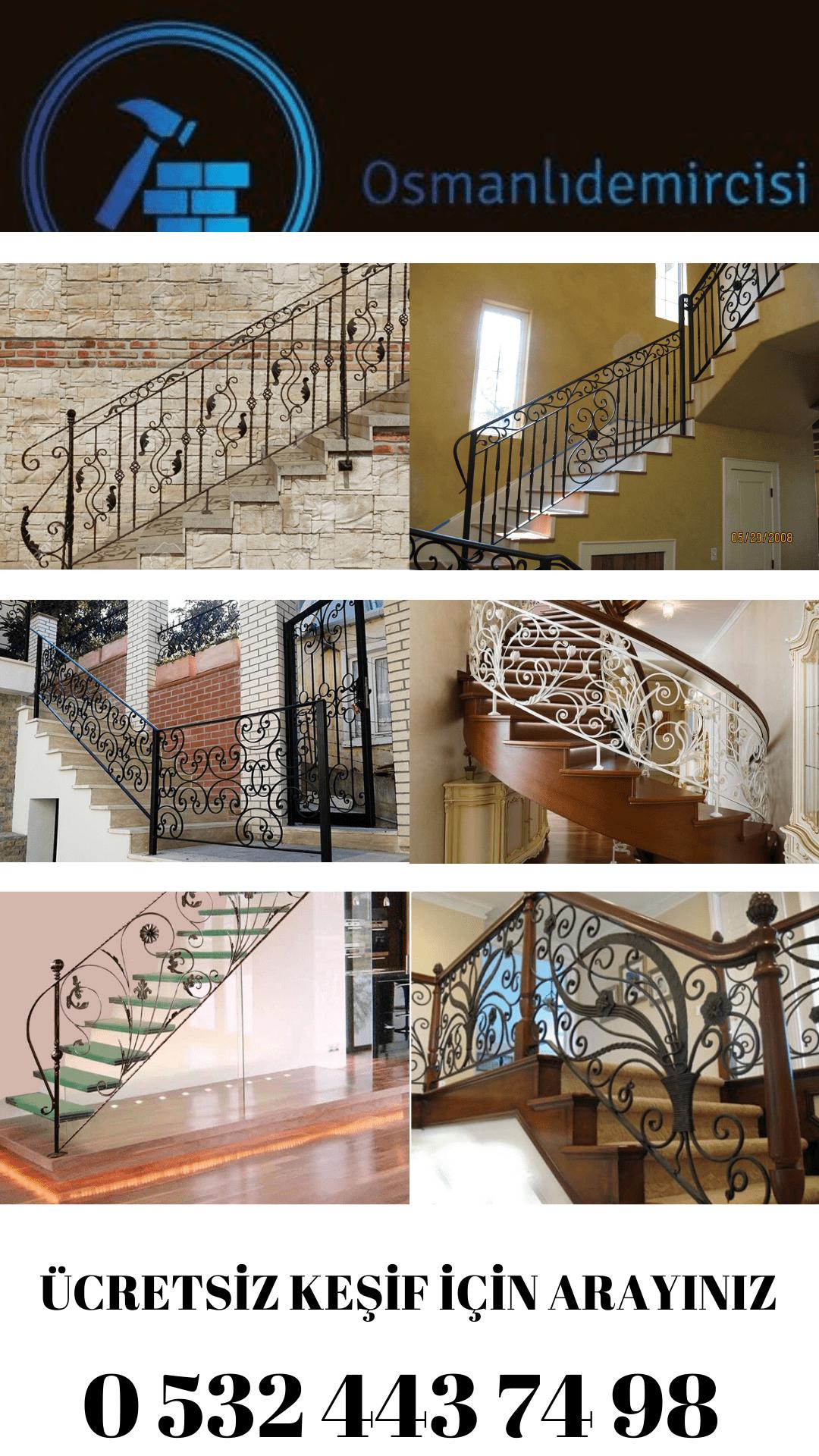 İzmir ferforje merdiven modelleri