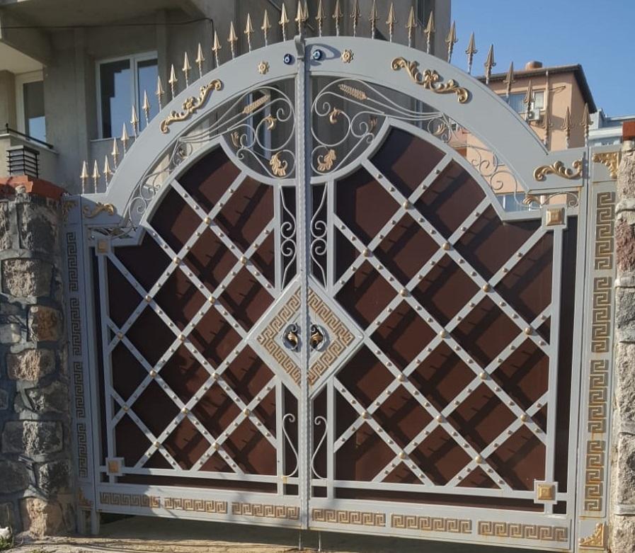 ferforje bahçe kapısı İzmir