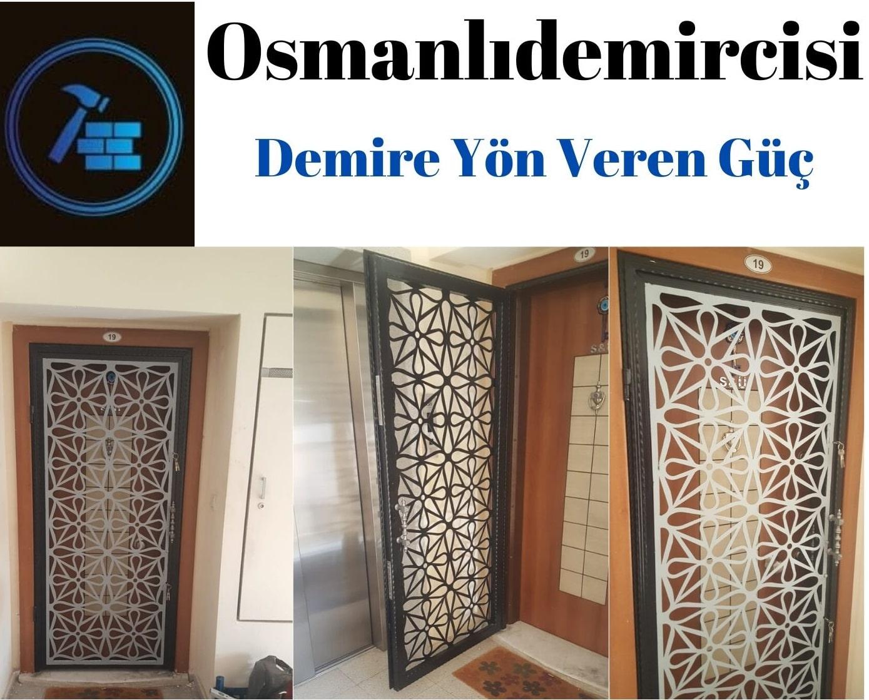 Lazer kapı korkuluğu İzmir